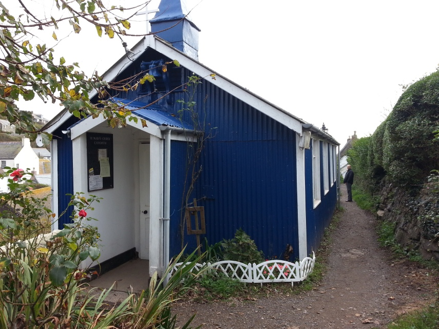 Little blue church