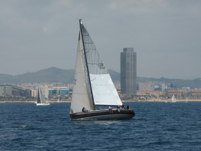 Barcelona from the water