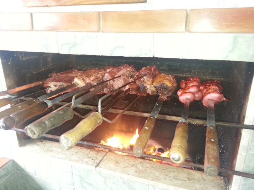 Traditional Gaucho barbecue