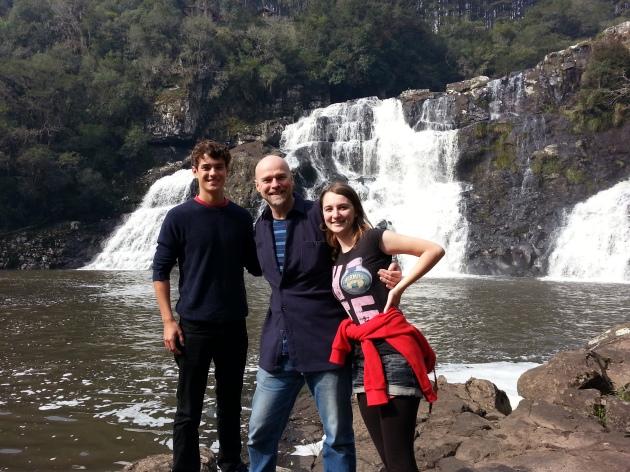 Cachoeira do Passo do Inferno (James, Brian and Chloe)