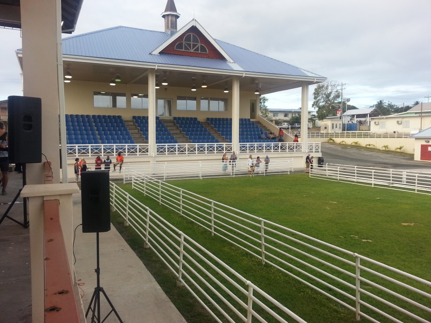 Goat races stadium