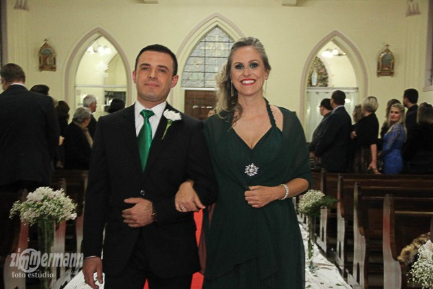 My sister Angelita with her fiancée Juliano