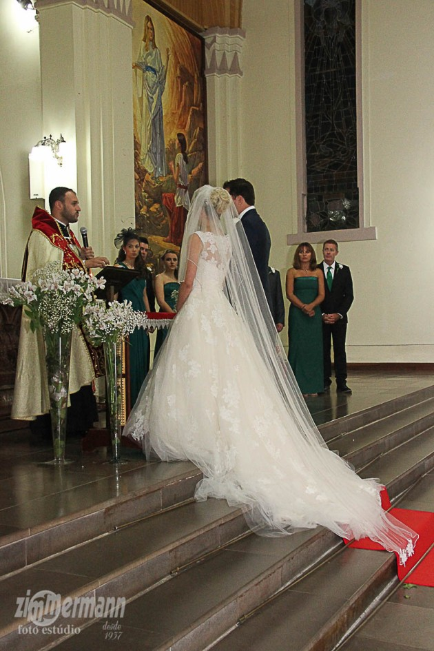 The Priest spoke very good English