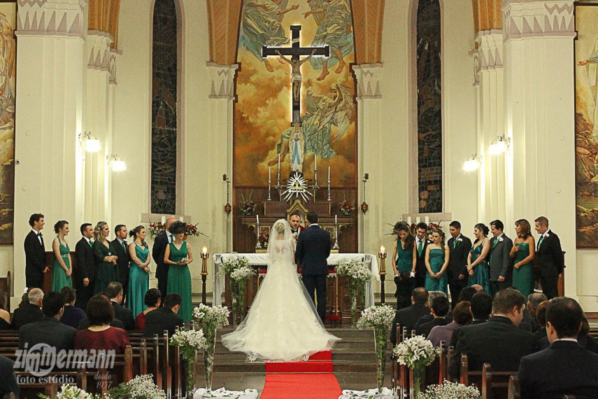 A traditional Brazilian wedding