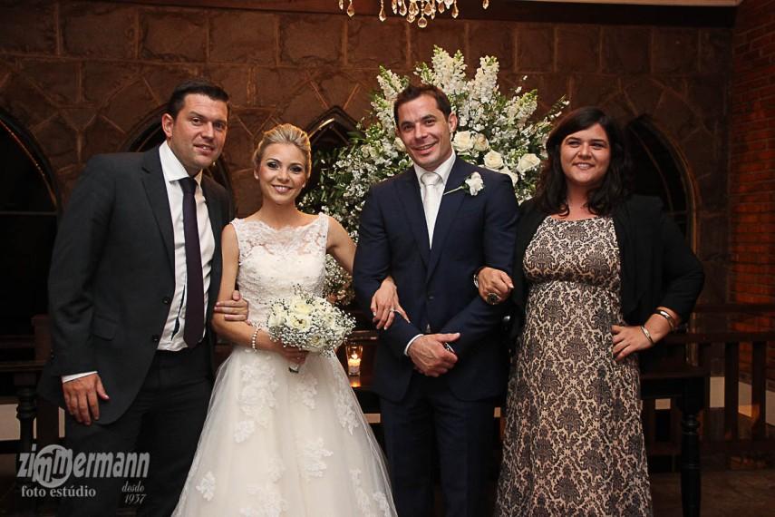With Victoria and her boyfriend Simon