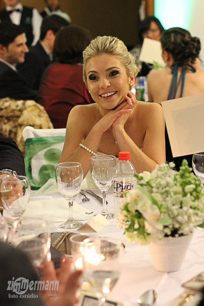 Caroline enjoying her guests