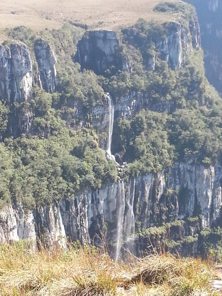 waterfall at Canyon Fortaleza