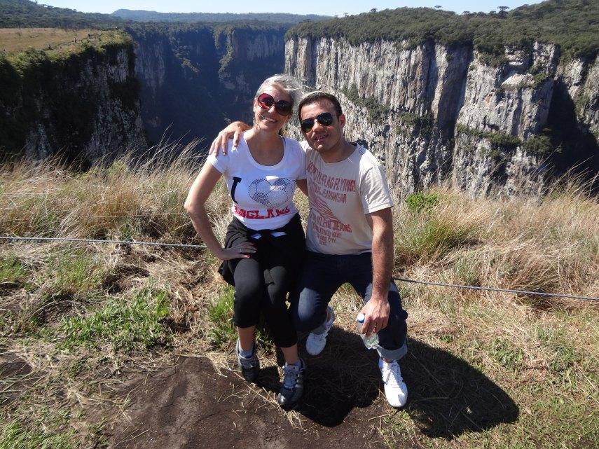 Angelita and Juliano at Itaimbezinho