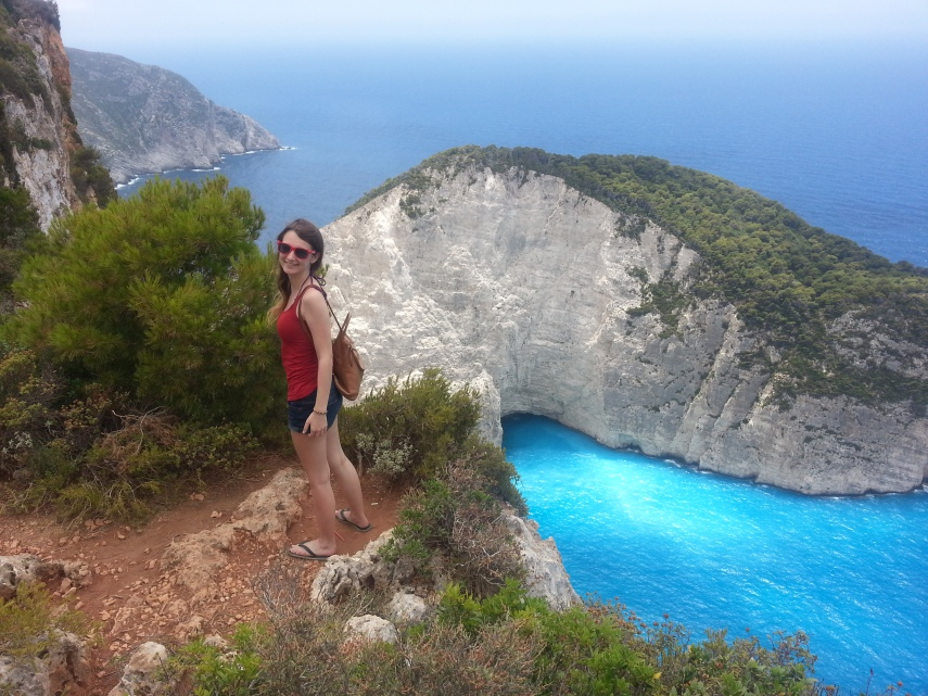 View of Navagio Beach, from Anafonitria