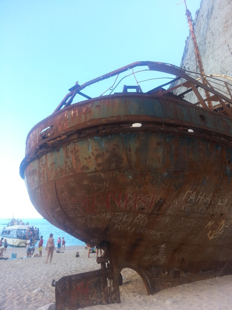 This Shipwreck has been here since the 1980's