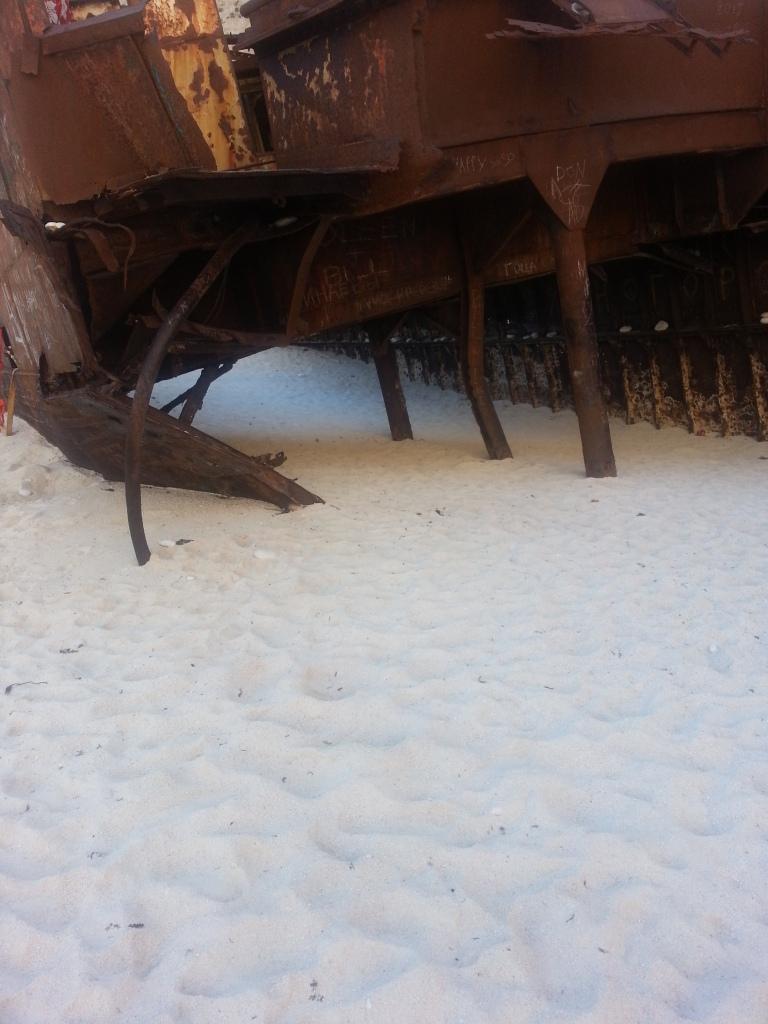 Inside the Shipwreck