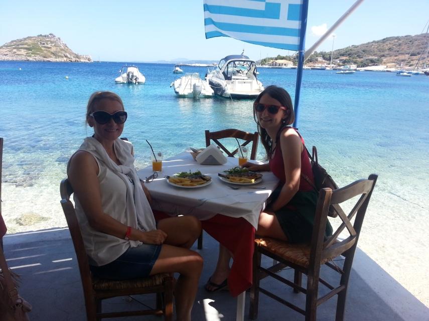 Greek Restaurant by St. Nicholas Harbour