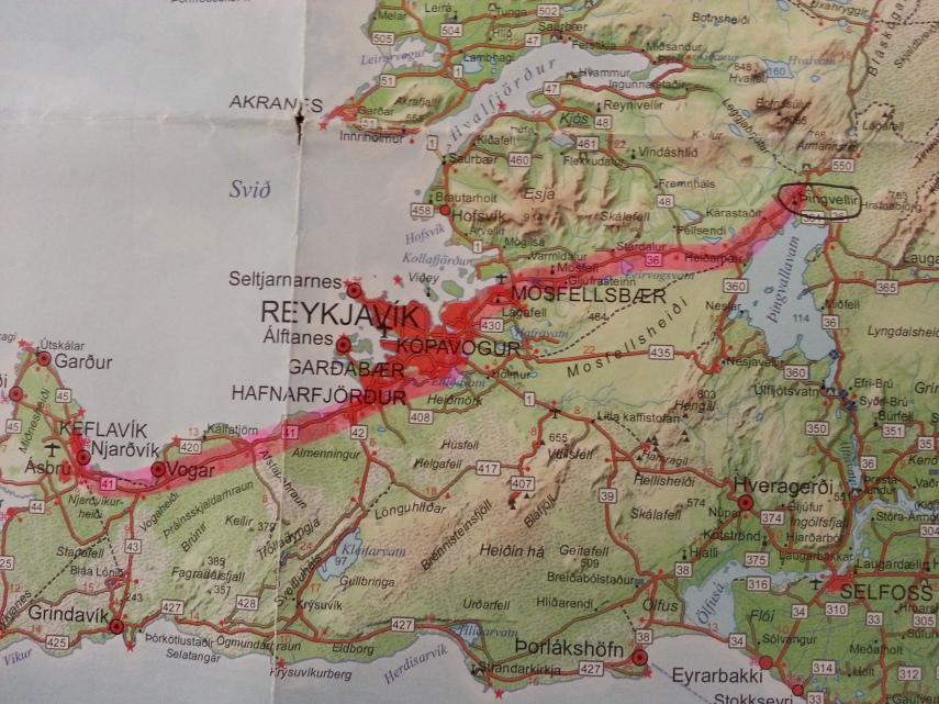 First Day- Keflavik Airport to Thingvellir
