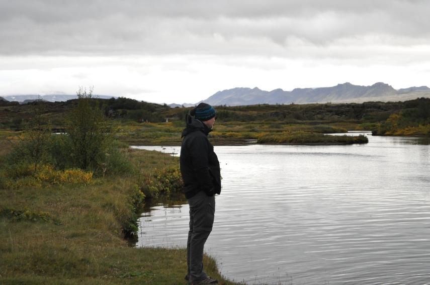 """Brian thinking """" I wish I had my fishing rod""""..."""