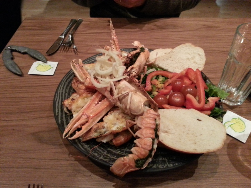 Langoustine in Hofn is simply delicious