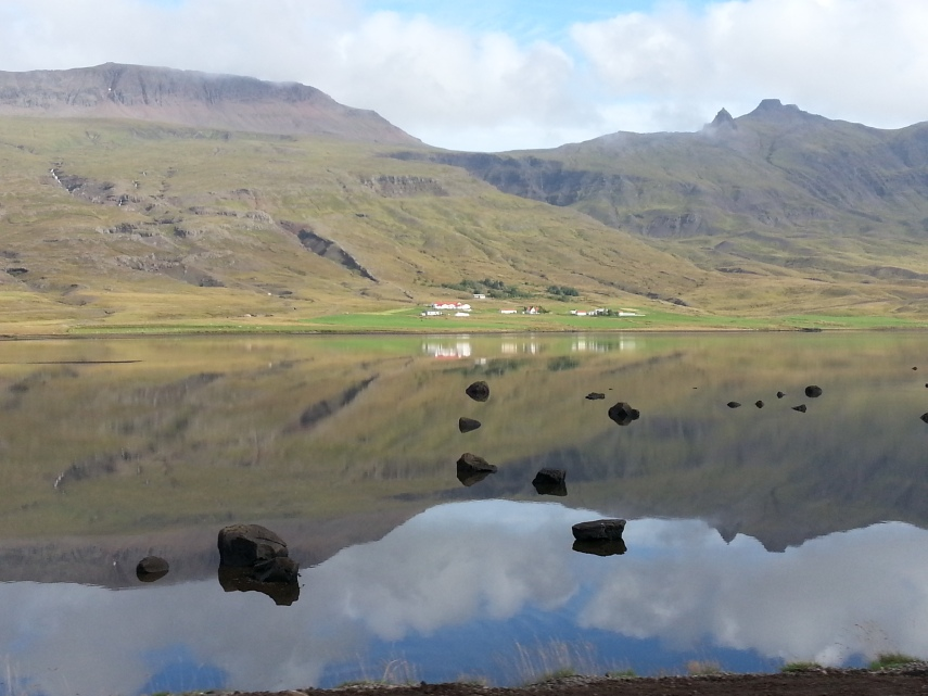 Stunning and peaceful Iceland's East Fjords