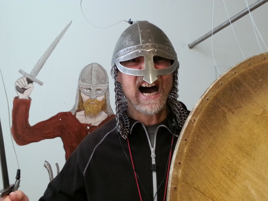 Playing Vikings at the National Museum