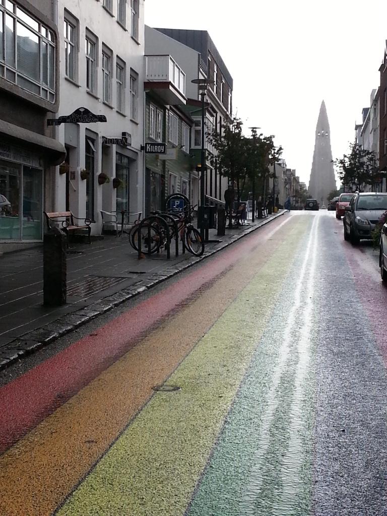 Rainbow roads