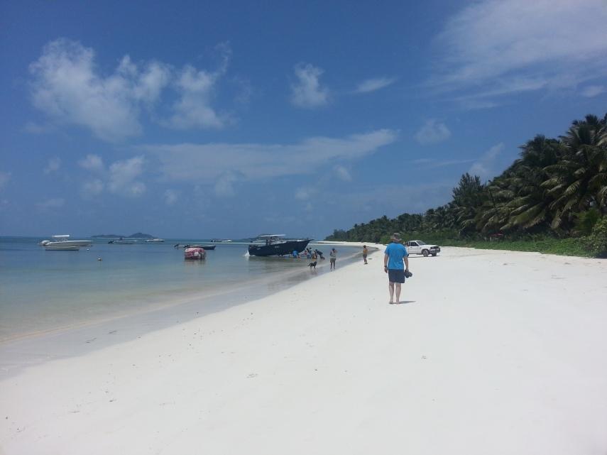Grand Anse was our beach